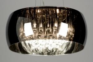 hanglamp 87583: modern, glas, kristal, kristalglas