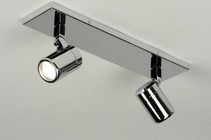 plafondlamp 87882: modern, metaal, rond