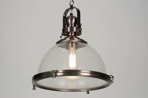 hanglamp 88158: glas, helder glas