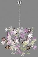 hanglamp 88235: modern, meerkleurig, kunststof, rond