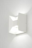 wandlamp 88579: modern, design, metaal, wit