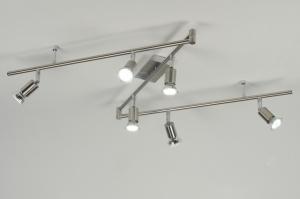spot 88730: modern, staal , rvs, rond