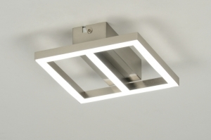 plafondlamp 88737: modern, design, kunststof, acrylaat