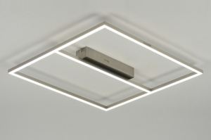 plafondlamp 88739: modern, design, kunststof, acrylaat
