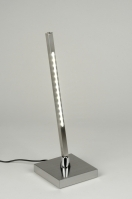 tafellamp 88932: modern, design, staal , rvs