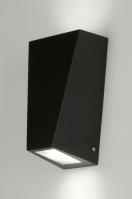 wandlamp 88946: modern, design, aluminium, glas