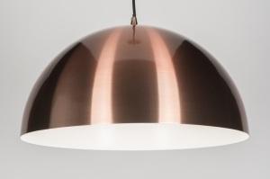 hanglamp 89321: modern, retro, aluminium, rond
