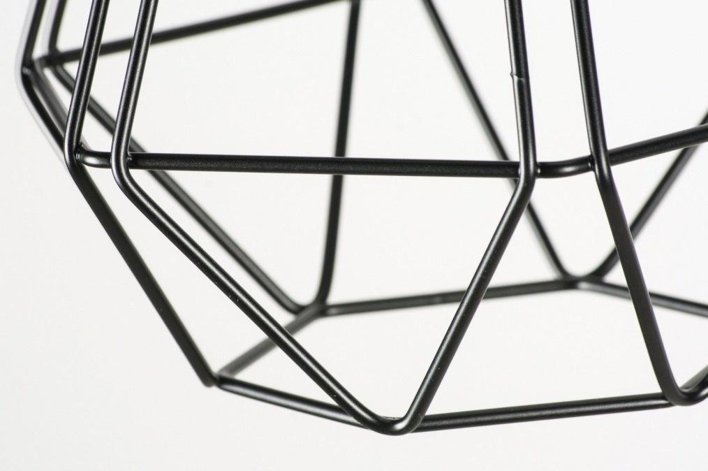 pendelleuchte 10223 modern metall schwarz laenglich