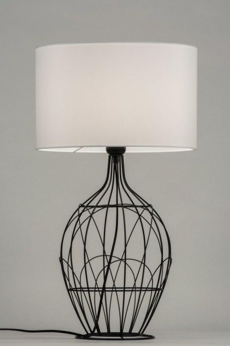 Tafellamp 10306: landelijk, rustiek, modern, eigentijds klassiek #0