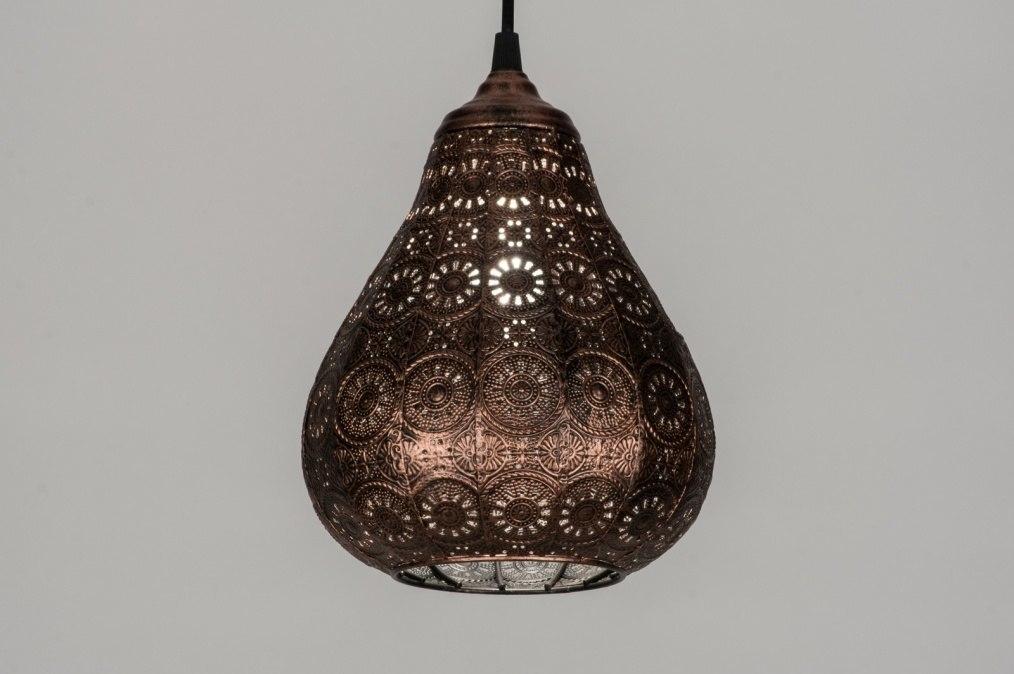 hanglamp 10435 klassiek eigentijds klassiek landelijk rustiek koper. Black Bedroom Furniture Sets. Home Design Ideas