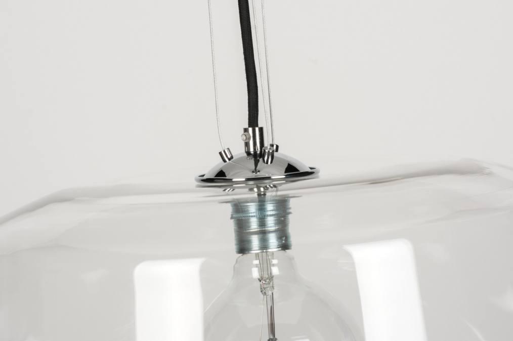 pendelleuchte 10494 modern laendlich rustikal transparent farblos glas. Black Bedroom Furniture Sets. Home Design Ideas