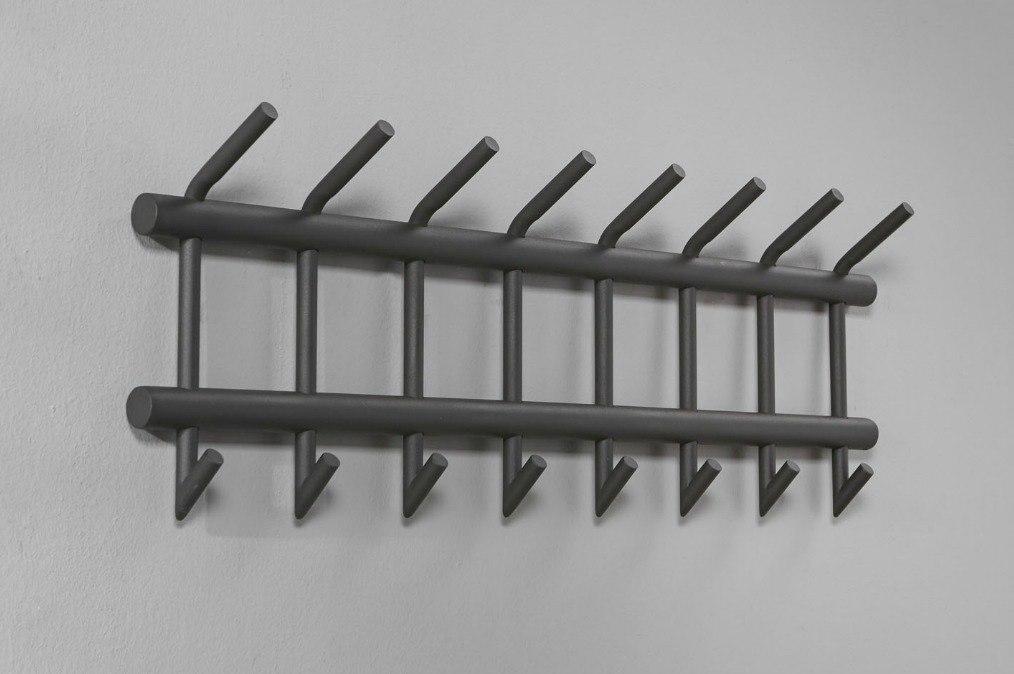 Garderobe 10692: Industrielook, laendlich rustikal, modern, Metall #0