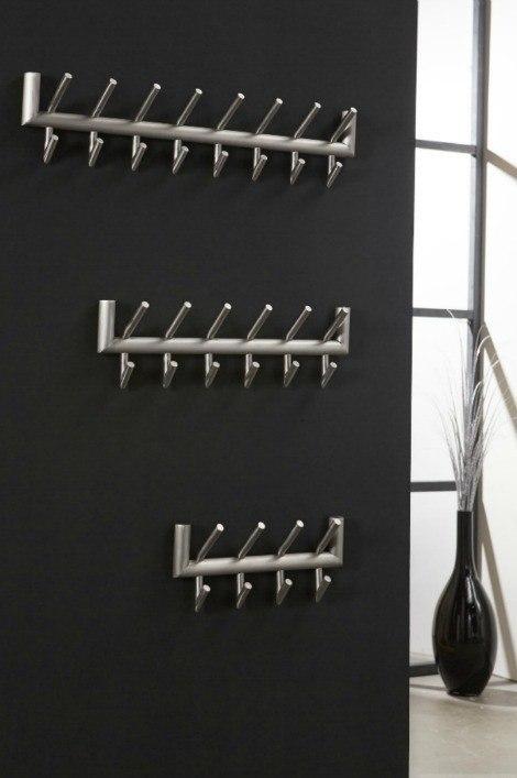 Garderobe 10714: Industrielook, modern, coole Lampen grob, Aluminium #0