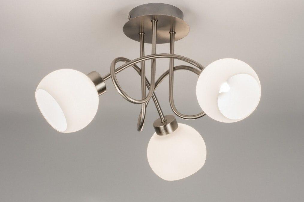 Plafondlamp 10879: modern, eigentijds klassiek, landelijk, rustiek #0