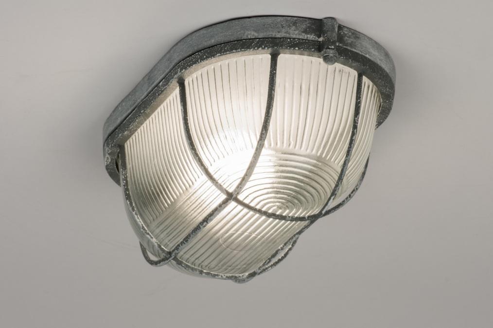 Plafondlamp 10963 eigentijds klassiek landelijk rustiek industrie look - Eigentijds huis grijs ...