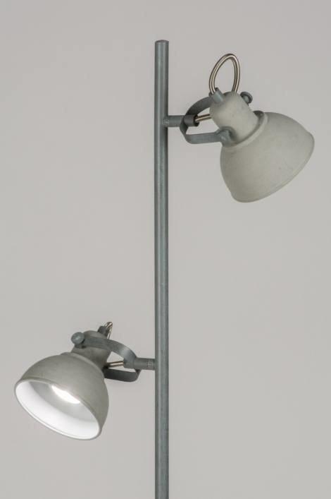 Vloerlamp 11073: landelijk, rustiek, industrie, look #0