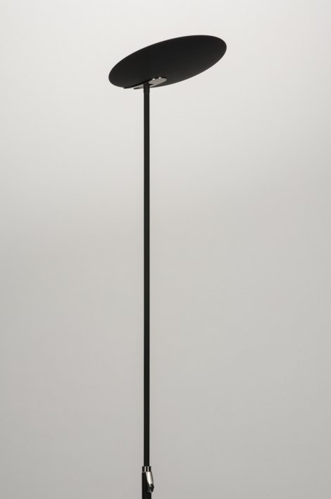 Vloerlamp 11281: modern, design, zwart, mat #0