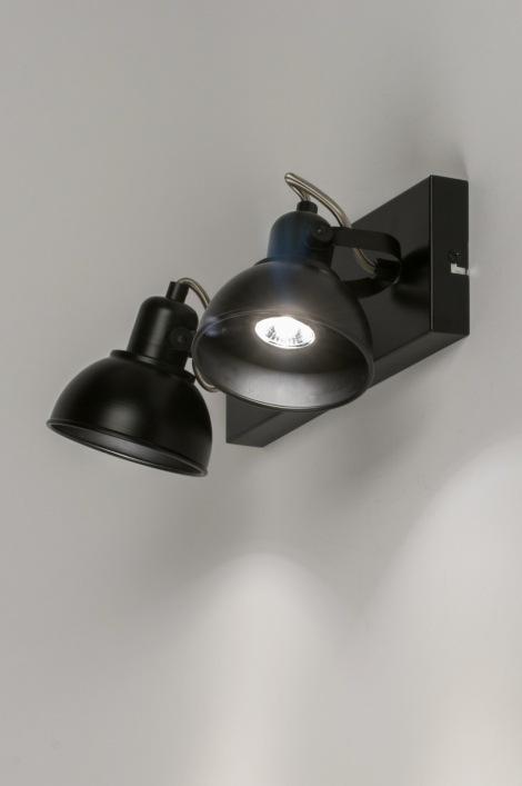 deckenleuchte 11377 modern schwarz metall rechteckig. Black Bedroom Furniture Sets. Home Design Ideas
