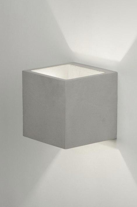 wandlamp 11380 modern landelijk rustiek industrie. Black Bedroom Furniture Sets. Home Design Ideas
