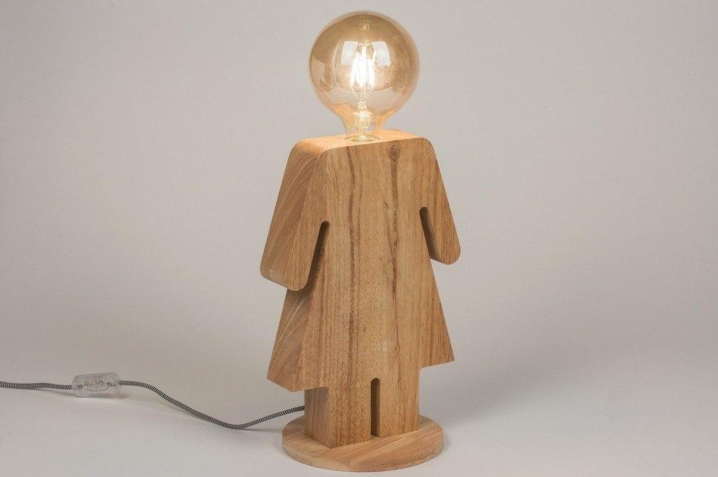 Tafellamp 11479: design, landelijk, rustiek, modern #0