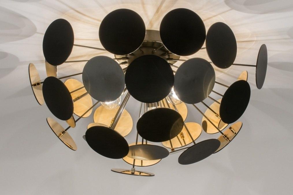 Plafondlamp 11507: design, landelijk, rustiek, modern #0