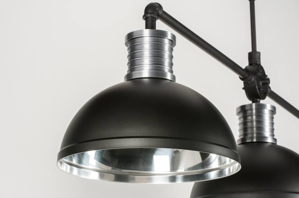 pendelleuchte 11618 industrielook modern coole lampen grob aluminium. Black Bedroom Furniture Sets. Home Design Ideas
