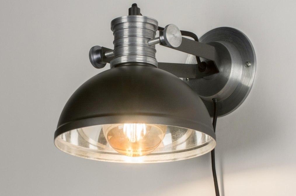 Wandlamp 11619: modern, industrie, look, stoer #0