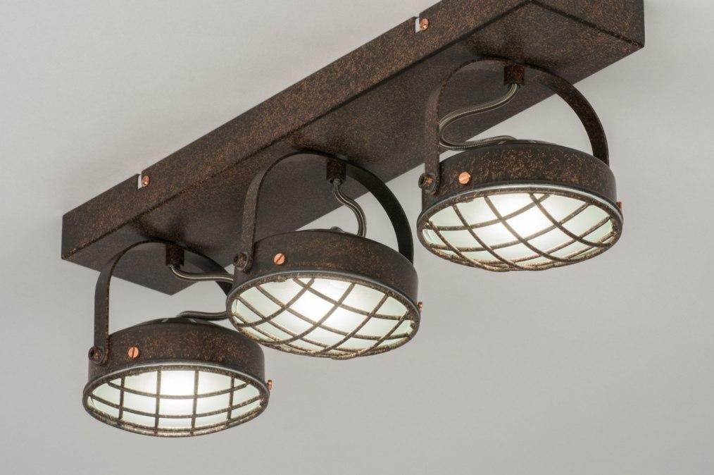 Deckenleuchte 11696 industrielook modern coole lampen grob metall - Coole deckenleuchten ...