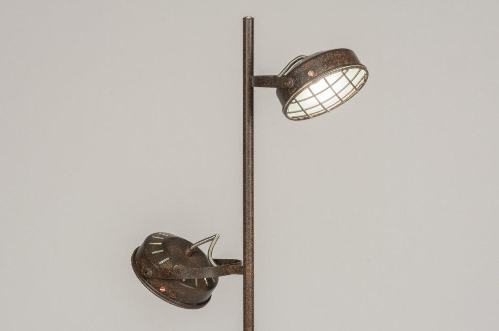 Vloerlamp 11697: modern, industrie, look, roest #0