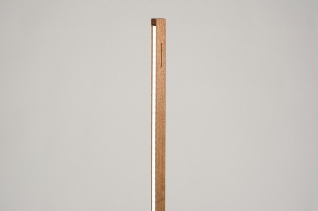 Vloerlamp 11718: design, modern, hout, licht hout #0