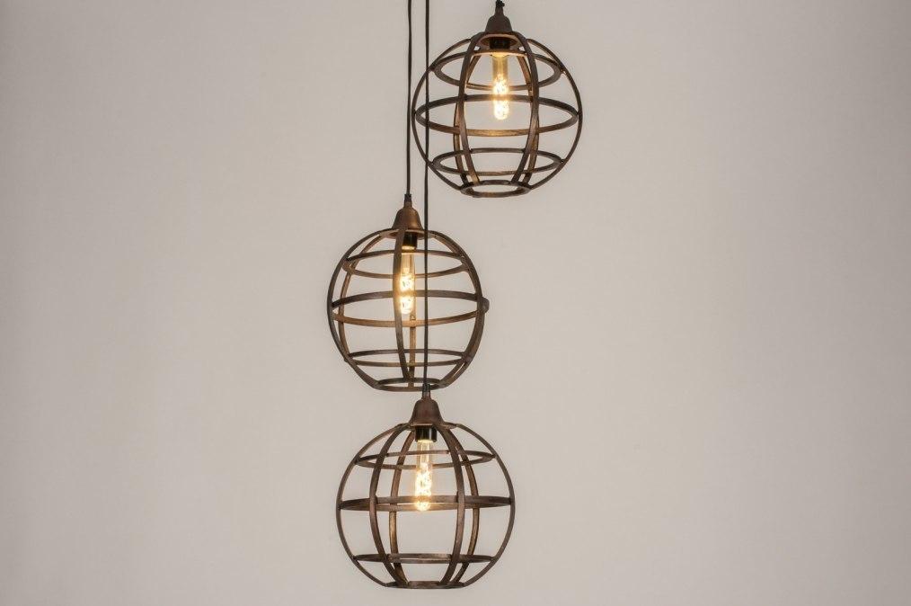 Hanglamp 11803: industrie, look, landelijk, rustiek #0