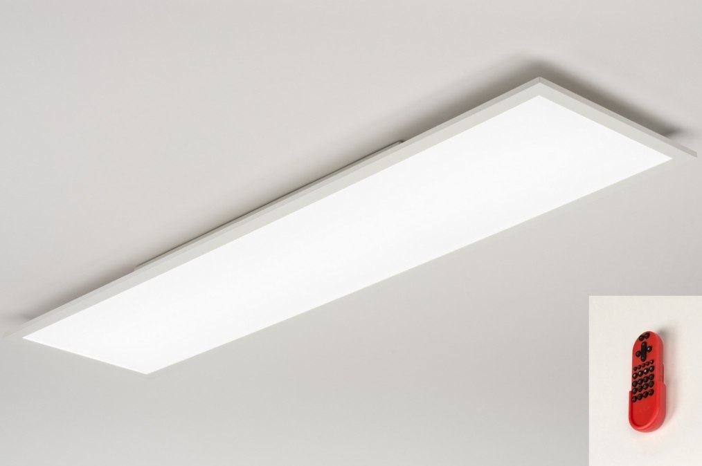 Plafondlamp 11918: modern, design, meerkleurig, RGB multicolor #0