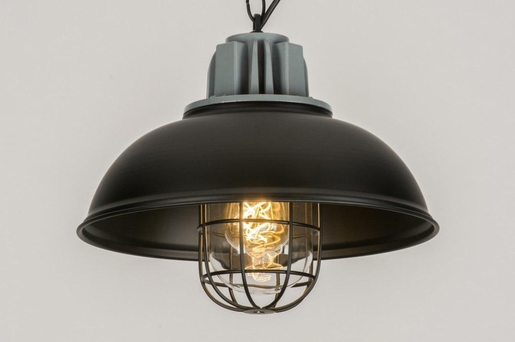 Hanglamp 11955: industrie, look, landelijk, rustiek #0