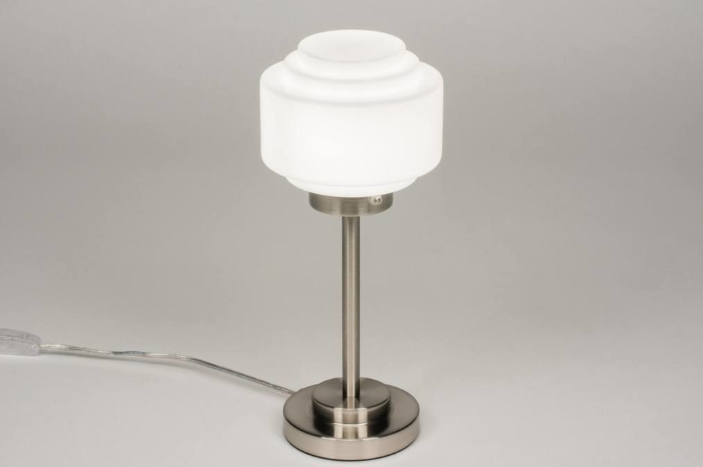 Tafellamp 11967: modern retro eigentijds klassiek art deco