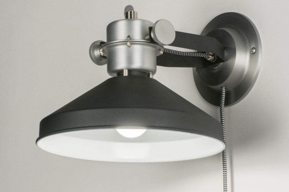 Wandlamp 12022: modern, industrie, look, stoer #0