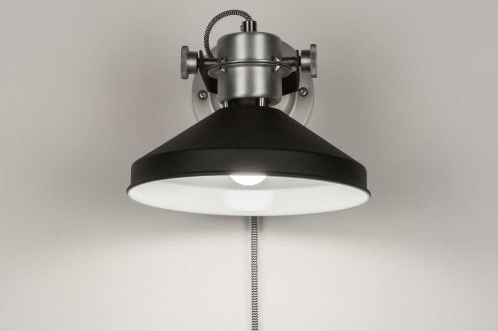 wandleuchte 12022 modern industrielook coole lampen grob aluminium. Black Bedroom Furniture Sets. Home Design Ideas