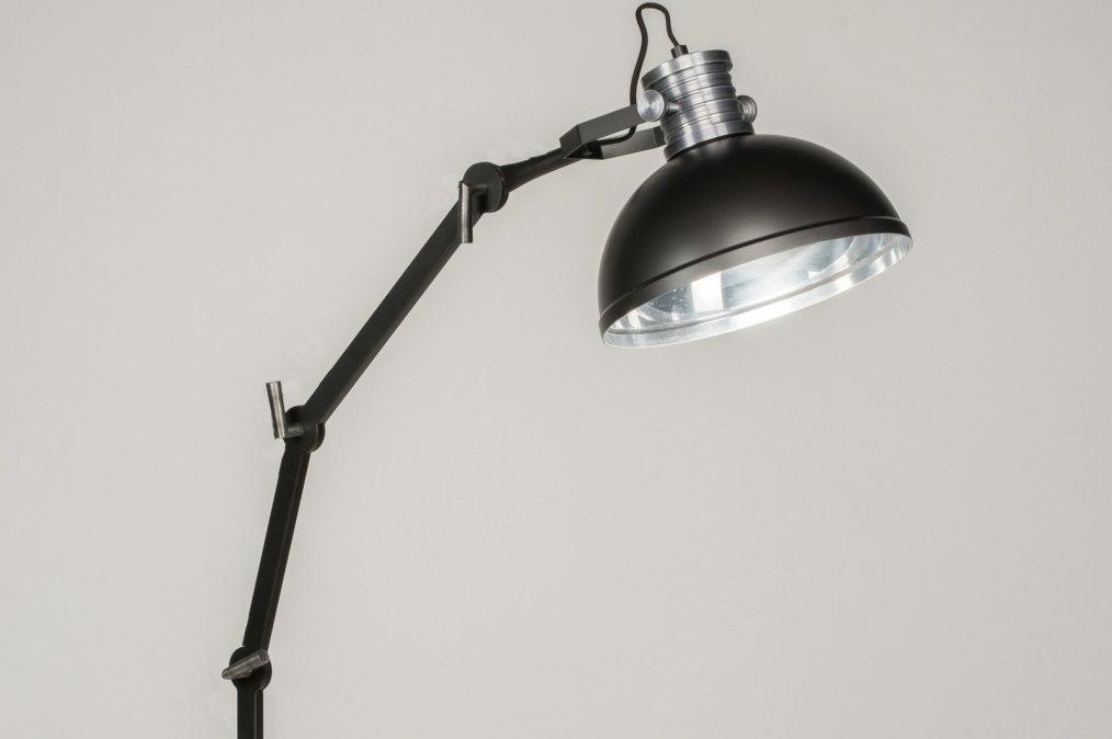Vloerlamp 12028: modern, industrie, look, stoer #0