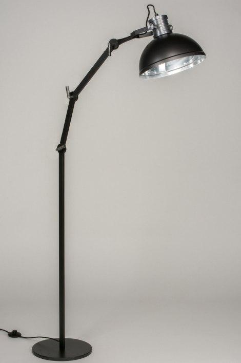 staande lamp 12028 modern industrie look stoere lampen. Black Bedroom Furniture Sets. Home Design Ideas