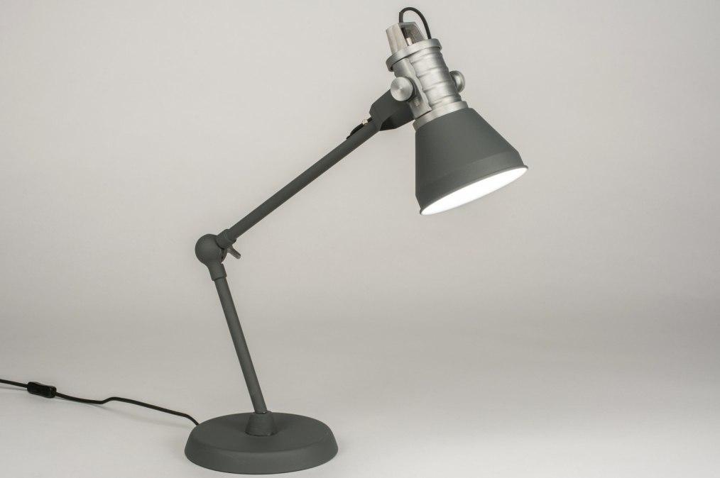 Tafellamp 12047: industrie, look, modern, stoer #0