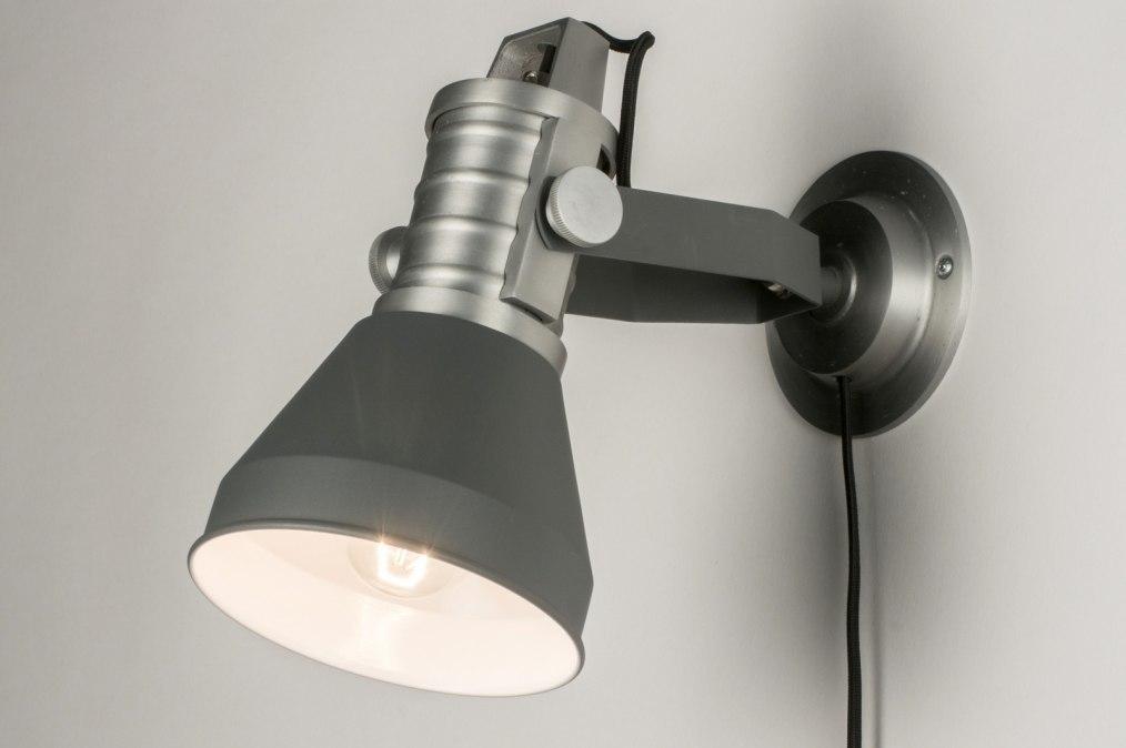 Wandlamp 12048: modern, industrie, look, stoer #0