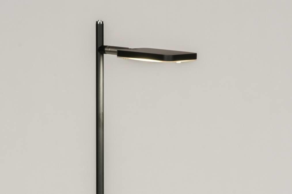 Vloerlamp 12053: modern, design, zwart, mat #0