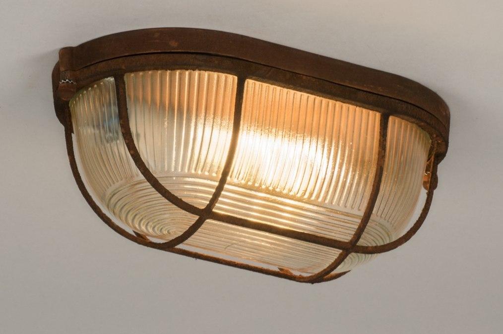 Plafondlamp 12106: modern, landelijk, rustiek, industrie #0