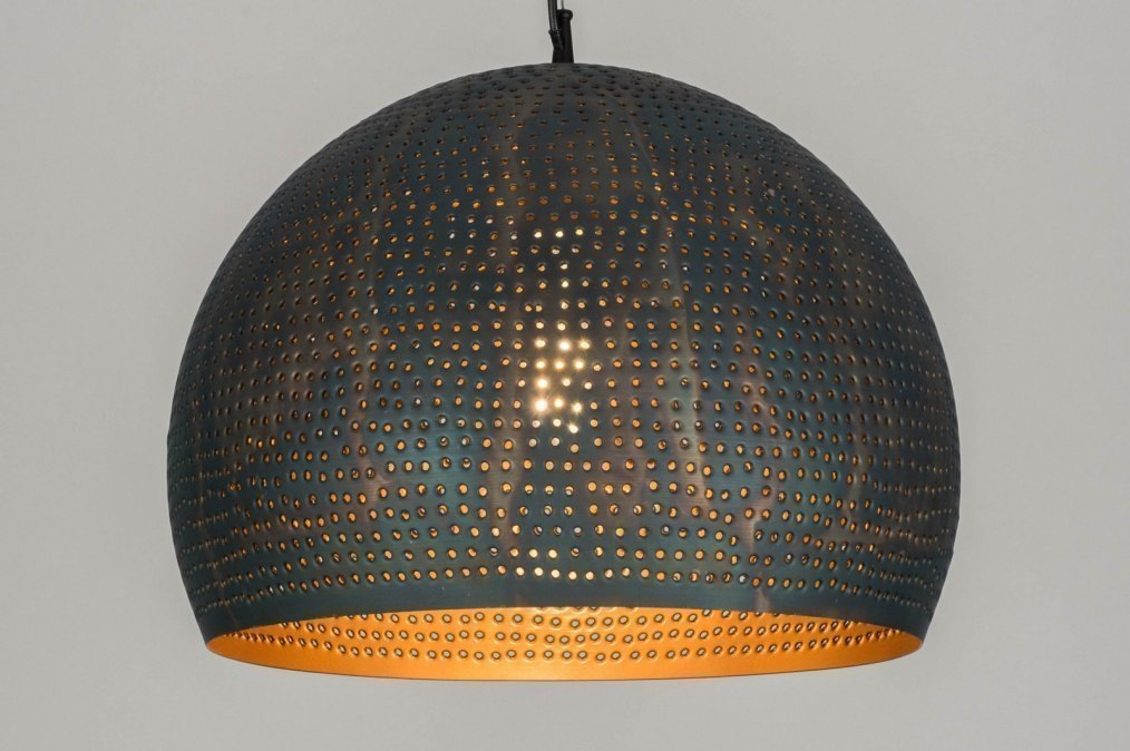 Hanglamp 12130: landelijk, rustiek, modern, metaal #0