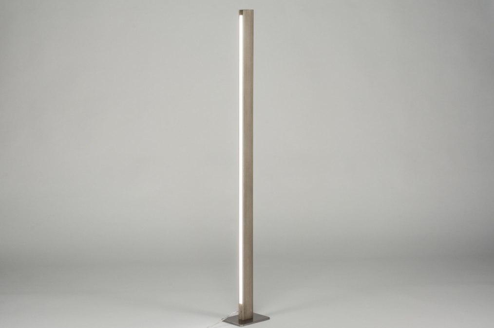 Rita staande lamp koper en marmer u made design collect