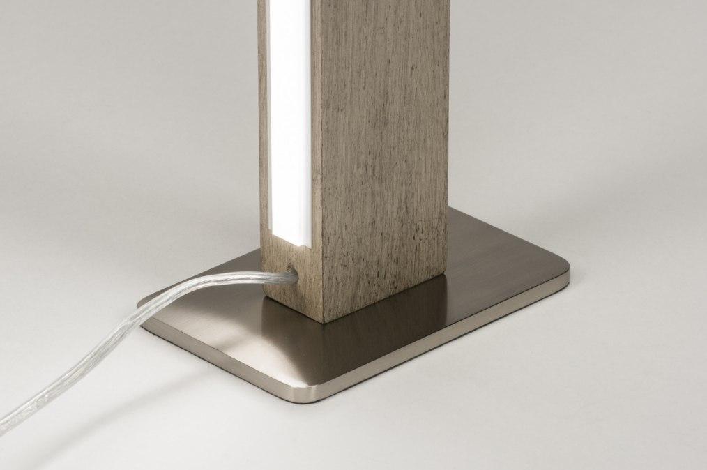 tischleuchte modern design tischlampe modern design tischleuchte wei h he 48 cm tischleuchte. Black Bedroom Furniture Sets. Home Design Ideas