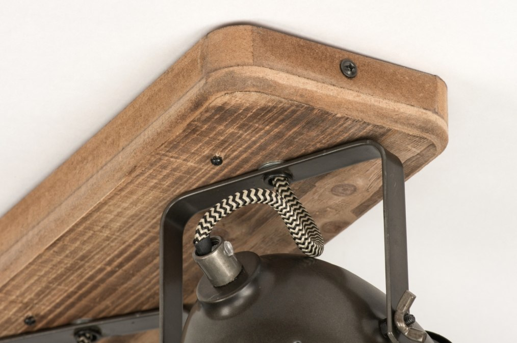 deckenleuchte 12136 industrielook laendlich rustikal coole lampen grob holz. Black Bedroom Furniture Sets. Home Design Ideas