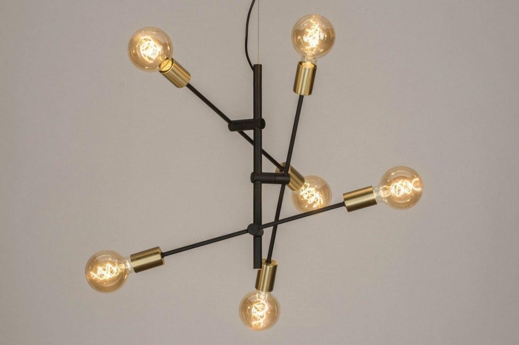 Hanglamp 12214: modern, retro, eigentijds klassiek, metaal #0