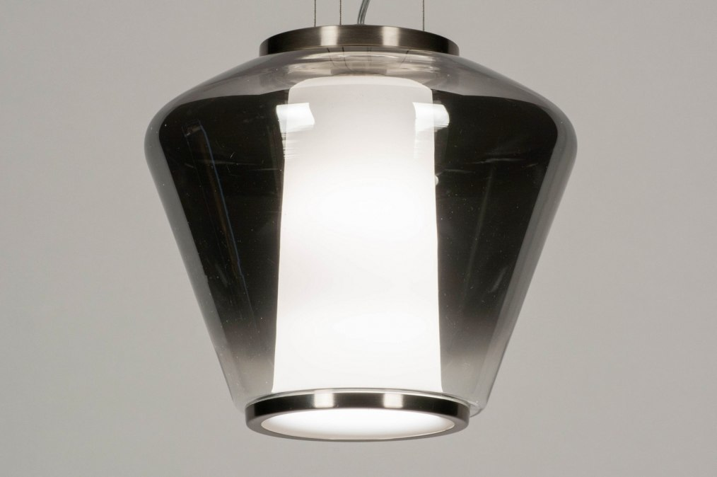 Hanglamp 12244: sale, modern, glas, wit opaalglas #0