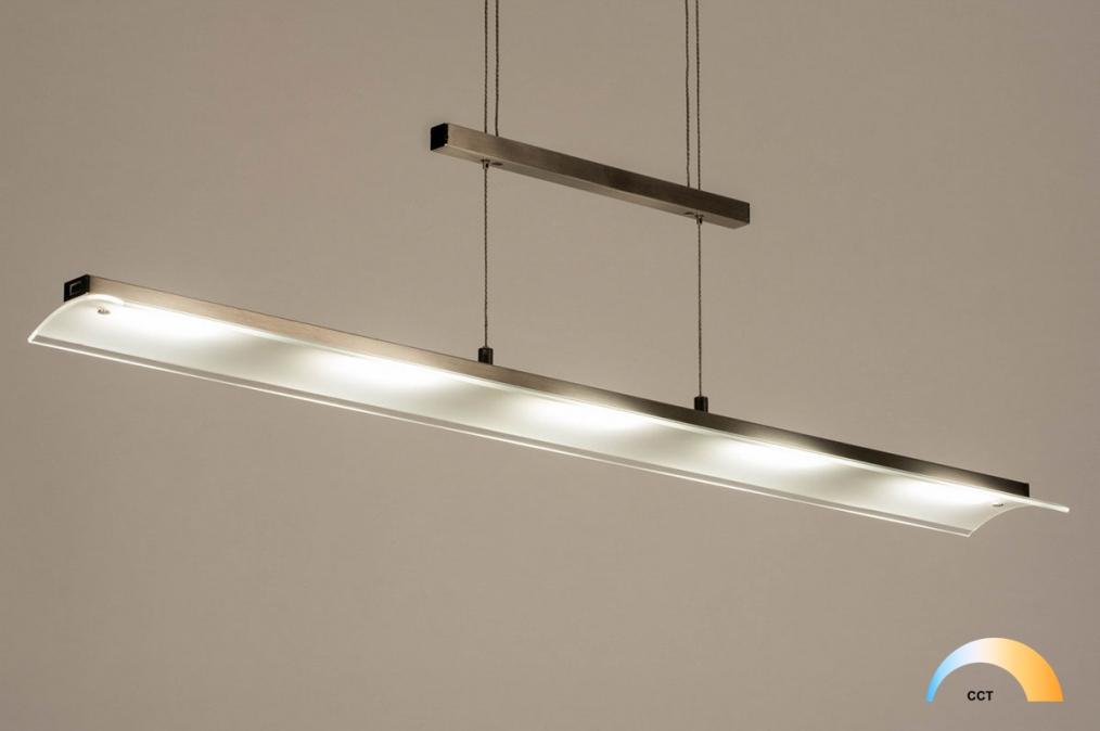 Hanglamp 12437: design, modern, glas, mat glas #0