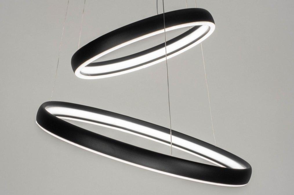 Hanglamp 12481: design, modern, aluminium, metaal #0